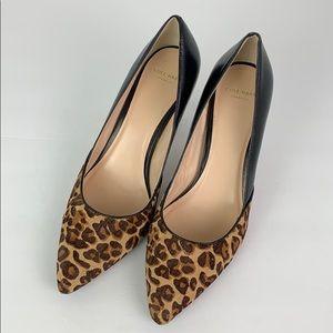 Cole Haan Grandos Real Fur 8B 3.5 inch Heel NWOT